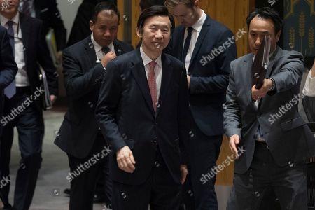 Editorial image of UN North Korea - 28 Apr 2017