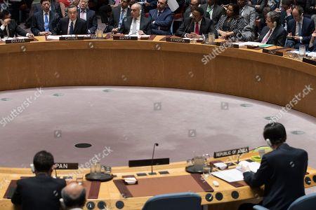 Editorial picture of UN North Korea - 28 Apr 2017