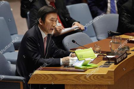 Editorial photo of UN North Korea - 28 Apr 2017