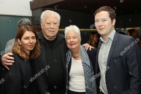 Sofia Coppola, Fred Roos, Eleanor Coppola, Sandy Alexander Roos