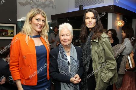 Stock Image of Meredith Ostrom, Eleanor Coppola, Larissa Bond