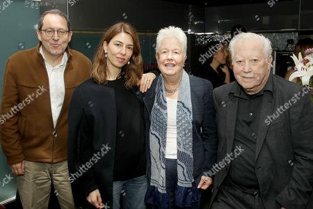 Michael Barker (Co-Pres. SPC), Sofia Coppola, Eleanor Coppola, Fred Roos (Producer)
