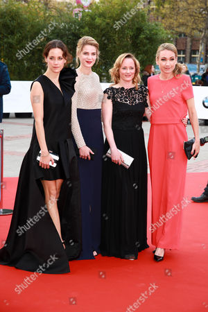 Stock Photo of Anja Knauer, Rike Schmid, Silke Bodenbender and Lisa Maria Potthoff