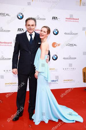 Lisa Martinek mit Ehemann Giulio Ricciarelli