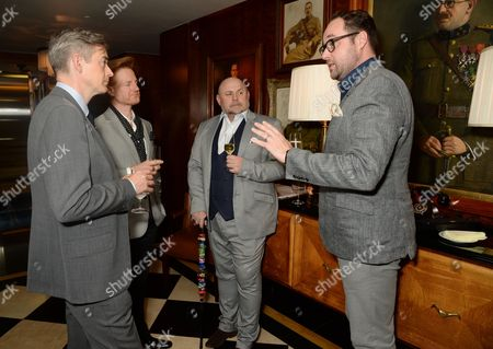 Toby Bateman, Michael Marshall Clarke, Carl Tearney, Tim Rodwell