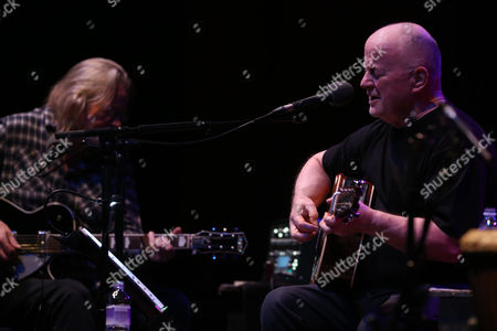 Editorial image of Christy Moore in concert at the Glasgow Royal Concert Hall, Glasgow, Scotland, UK - 28 Apr 2017