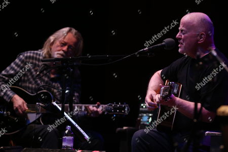 Stock Image of Christy Moore and Declan Sinnott