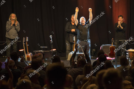 Stock Picture of Christy Moore and Declan Sinnott