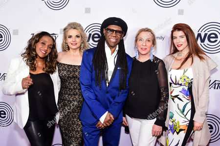 Kathy Sledge, Nancy Hunt, Nile Rodgers, Guest, Olivia Cipolla