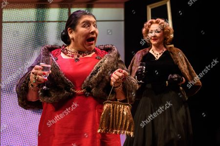 Miriam Margolyes and Frances Barber