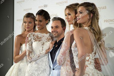 Editorial photo of Barcelona Bridal Fashion Week, L'hospitalet De Llobregat (Bcn), Spain - 28 Apr 2017