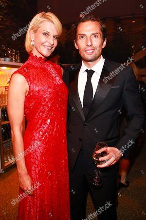 Quirin Berg mit Freundin Natascha Gruen