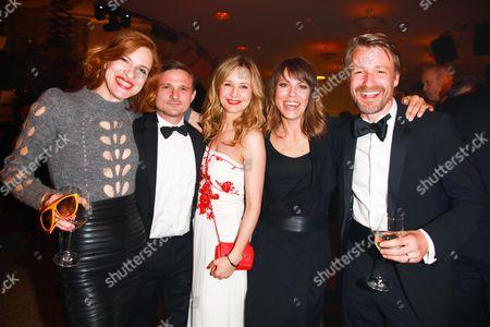 Inga Busch, Florian Lukas, Stefanie Stappenbeck, Anneke Kim Sarnau and Max von Pufendorf