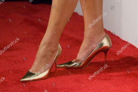 Sara Chase, shoe detail