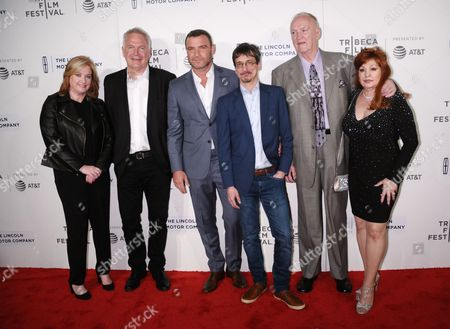 Stock Photo of Lisa Schwartz, Jonathan Sehring, Liev Schreiber, Philippe Falardeau, Chuck Wepner, Linda Wepner