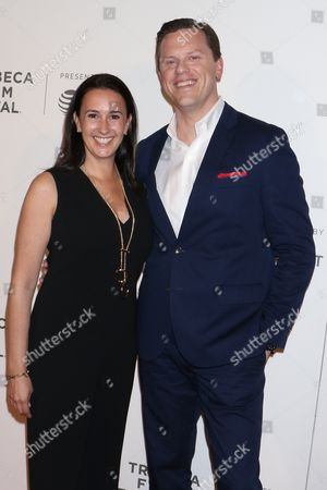 Stock Picture of Willie Geist and Christina Geist