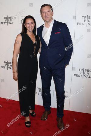Willie Geist and Christina Geist