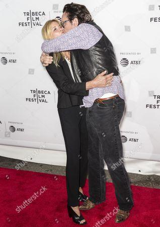 DeAnna Madsen (L) and Michael Madsen