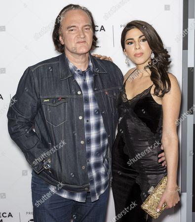 Director Quentin Tarantino and Costume Designer Courtney Hoffman