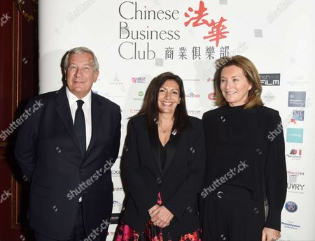 Editorial photo of Chinese Business Club lunch, Paris, France - 28 Apr 2017