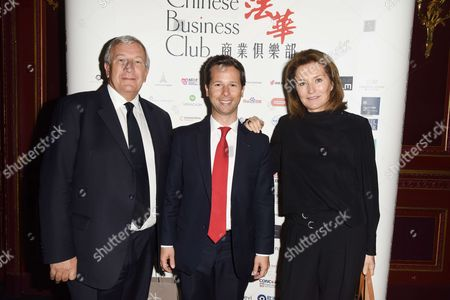 Editorial image of Chinese Business Club lunch, Paris, France - 28 Apr 2017