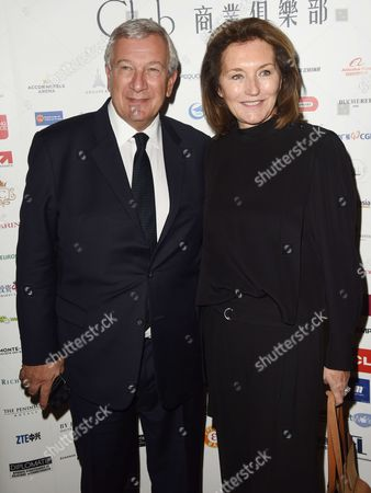 Stock Image of Richard and Cecilia Attias