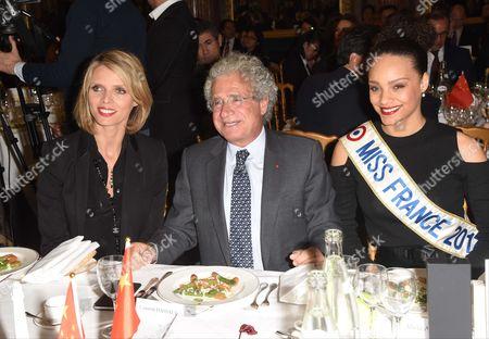 Sylvie Tellier, Laurent Dassault, Alicia Aylies
