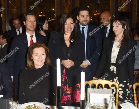 Editorial picture of Chinese Business Club lunch, Paris, France - 28 Apr 2017