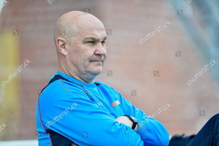 Eastleigh manager, Richard Hill  during the Vanarama National League match between Eastleigh and Wrexham FC at Arena Stadium, Eastleigh