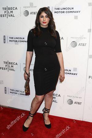 Editorial picture of 'Chuck' film screening, Arrivals, Tribeca Film Festival, New York - 28 Apr 2017
