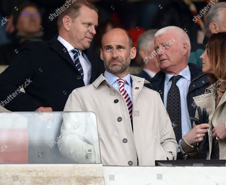 Sunderland chief executive Martin Bain during the Premier League match between Sunderland and AFC Bournemouth played at Stadium of Light, Sunderland on 29th April 2017
