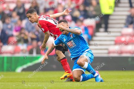 Editorial picture of Sunderland v Bournemouth, Premier League - 29 Apr 2017