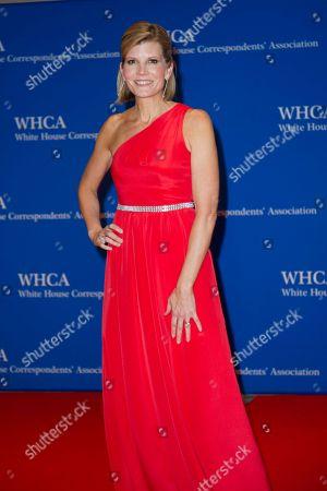 NBC News correspondent Kate Snow arrives at the White House Correspondents Dinner in Washington