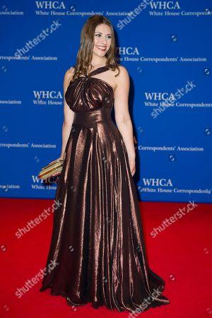 Stock Picture of Politico White House reporter Tara Palmeri attends the White House Correspondents' Dinner in Washington