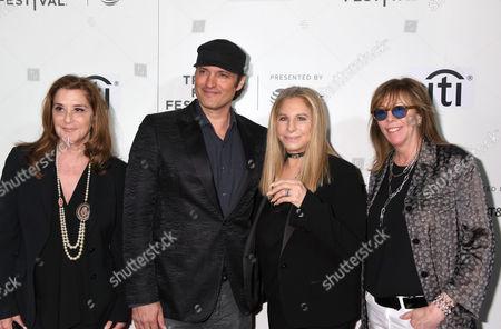Paula Weinstein, Robert Rodriguez, Barbra Streisand and Jane Rosenthal