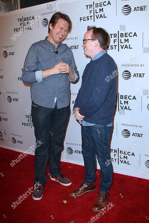 Pete Holmes and Chris Gethard