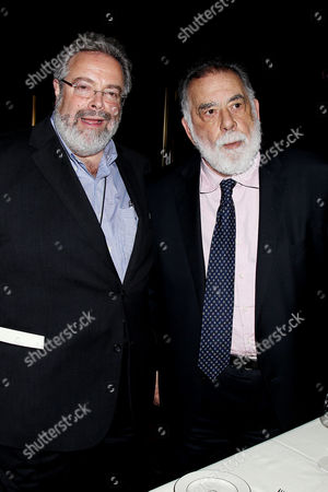 Drew Nieporent and Francis Ford Coppola