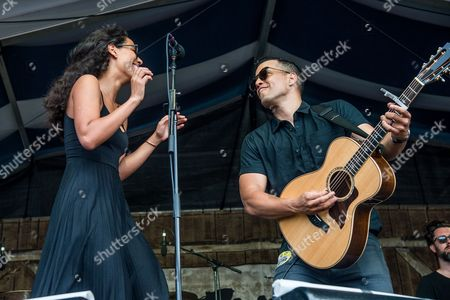 Stock Photo of JOHNNYSWIM - Amanda Sudano and Abner Ramirez