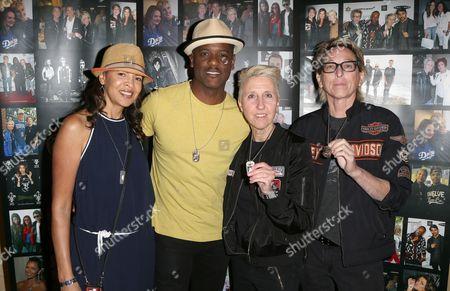 Stock Image of Blair Underwood, Desiree DaCosta, Sondra Piorek, Kate Mesta