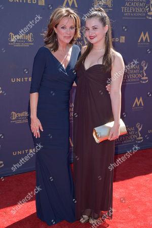 Nancy Lee Grahn and Katherine Grace