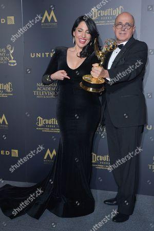 Stock Picture of Alejandra Oraa and Eduardo Suarez