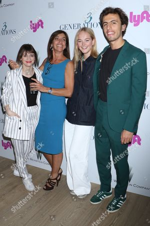Charlene McKenna, Gaby Dellall, director, Jean Campbell and Dash Fellner