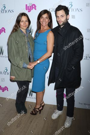 Editorial image of '3 Generations' film screening, Arrivals, New York, USA - 30 Apr 2017