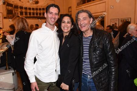 Winfried Glatzeder, Sohn Robert Glatzeder and seine Damineh Hojat