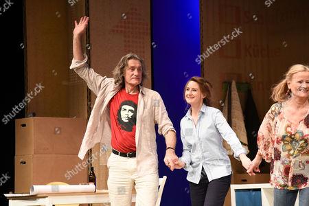 Winfried Glatzeder and Luise Schubert