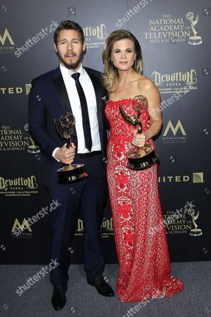 Scott Clifton and Gina Tognoni