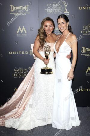 Lexi Ainsworth and Kelly Monaco