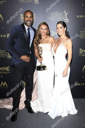 Lexi Ainsworth, Kelly Monaco and Donell Turner