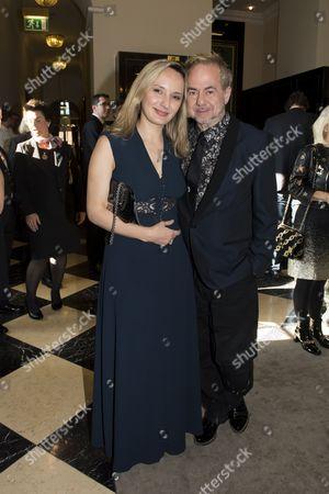 Helmut Zerlett mit Freundin Natalia