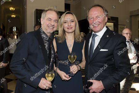 Helmut Zerlett mit Freundin Natalia and Kurt Wagner